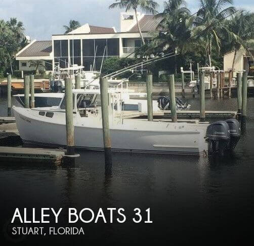 Used Boats For Sale in Palm Bay, Florida by owner | 2011 Alley Boats 31