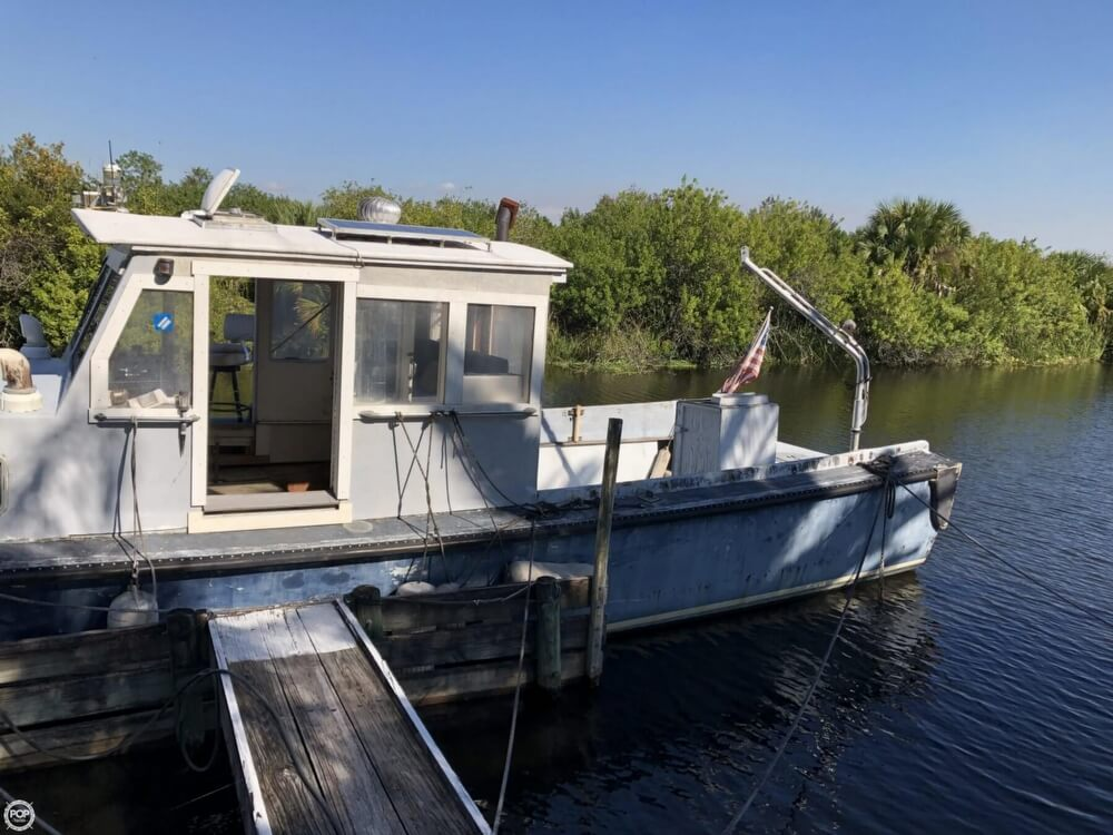 1967 Uniflite boat for sale, model of the boat is Navy 50 Utility Boat & Image # 4 of 40