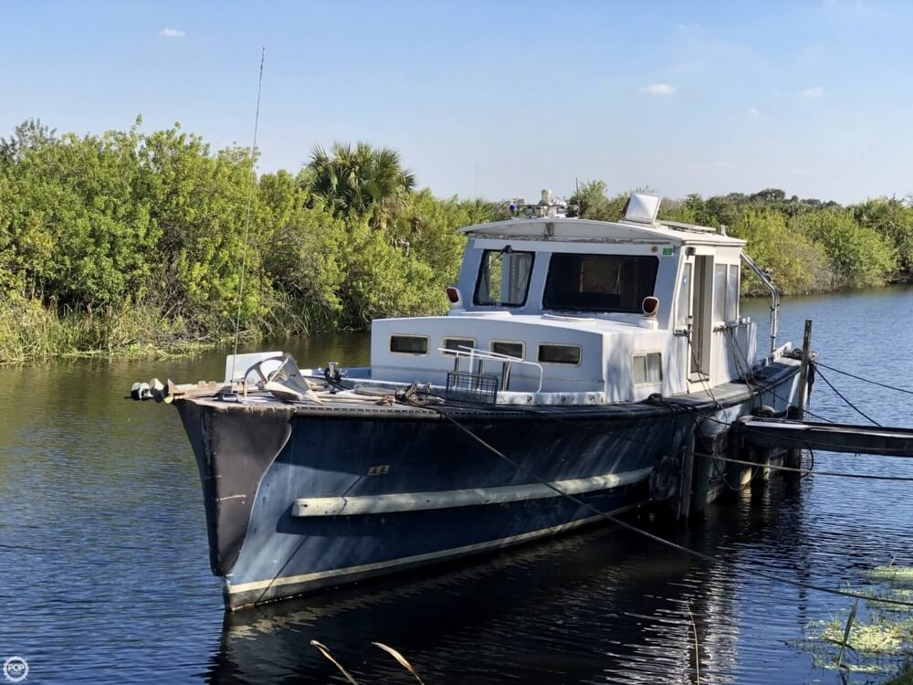 1967 Uniflite boat for sale, model of the boat is Navy 50 Utility Boat & Image # 2 of 40