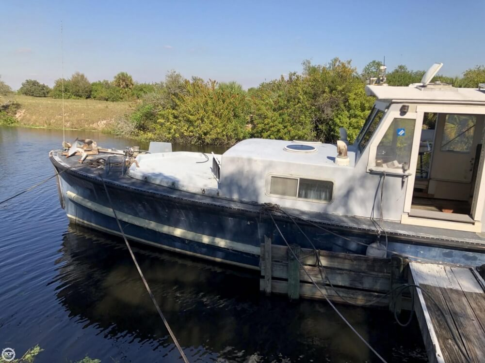 1967 Uniflite boat for sale, model of the boat is Navy 50 Utility Boat & Image # 5 of 40