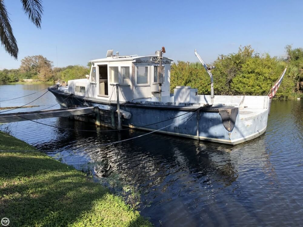 1967 Uniflite boat for sale, model of the boat is Navy 50 Utility Boat & Image # 3 of 40