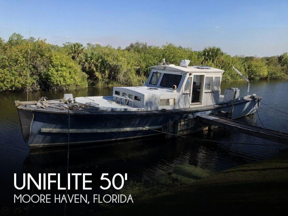 Used Uniflite Boats For Sale by owner | 1967 Uniflite 50 Workboat