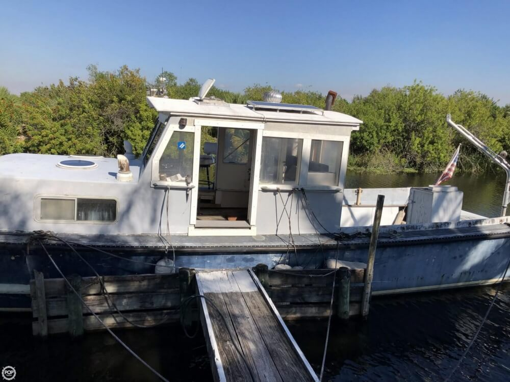 1967 Uniflite boat for sale, model of the boat is Navy 50 Utility Boat & Image # 6 of 40