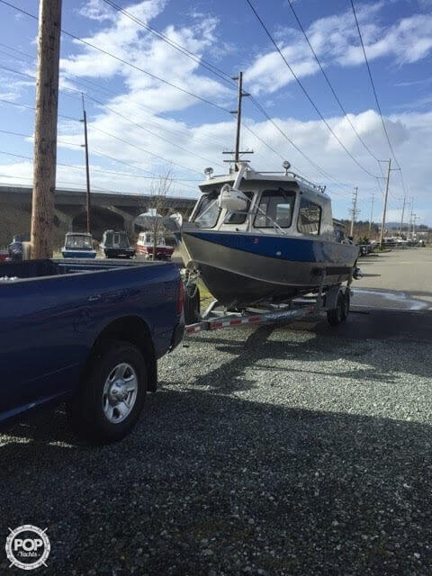 2010 Hewescraft boat for sale, model of the boat is Alaskan Pilot 2600 & Image # 25 of 27