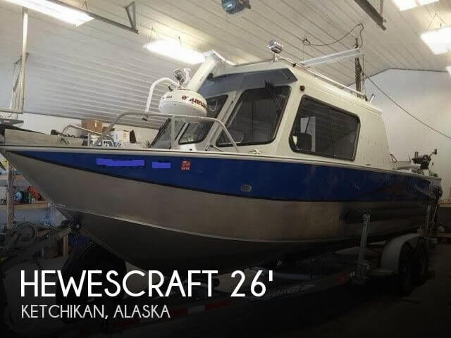 2010 Hewescraft boat for sale, model of the boat is Alaskan Pilot 2600 & Image # 1 of 27