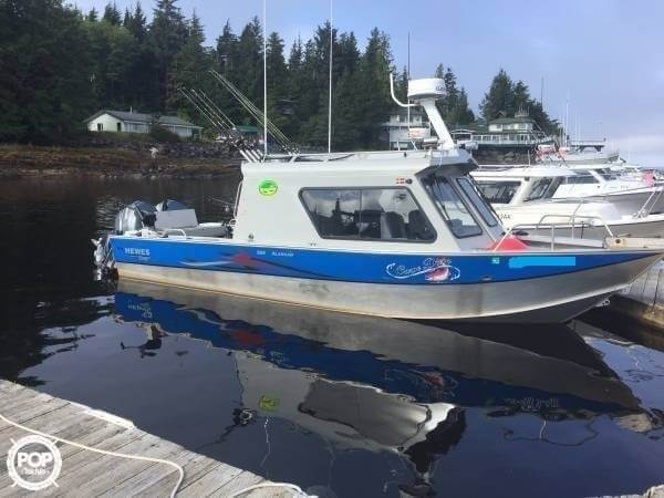2010 Hewescraft boat for sale, model of the boat is Alaskan Pilot 2600 & Image # 22 of 27