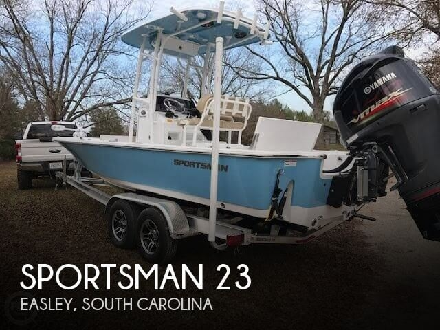 Used Boats For Sale in Spartanburg, South Carolina by owner | 2016 Sportsman 23
