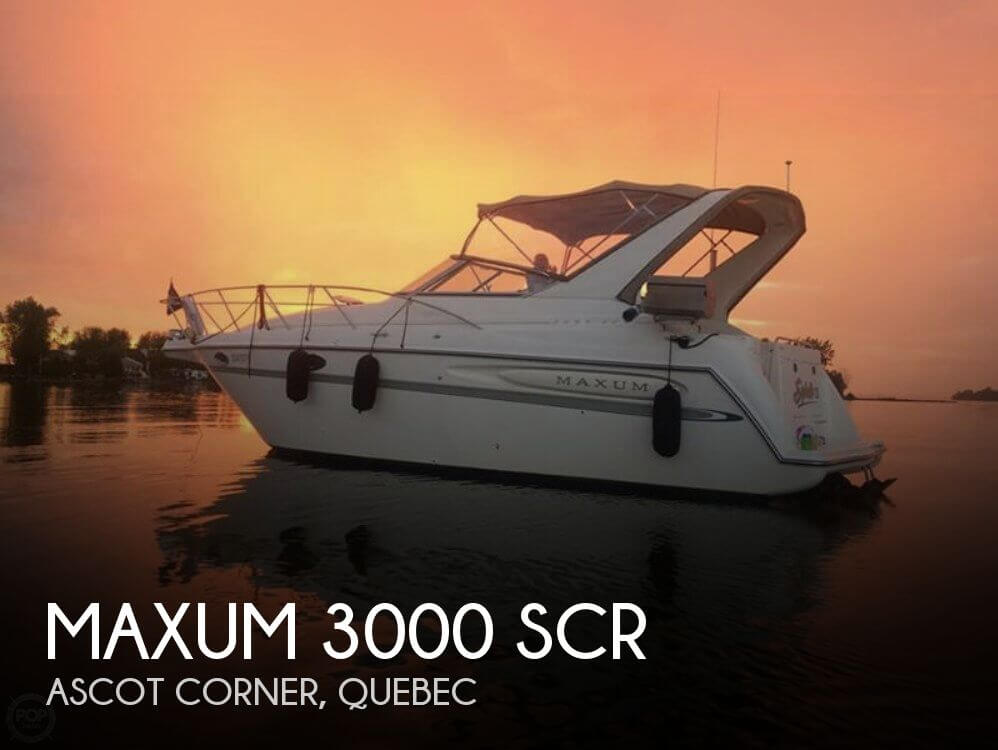 Used Maxum 32 Boats For Sale by owner | 1998 Maxum 32