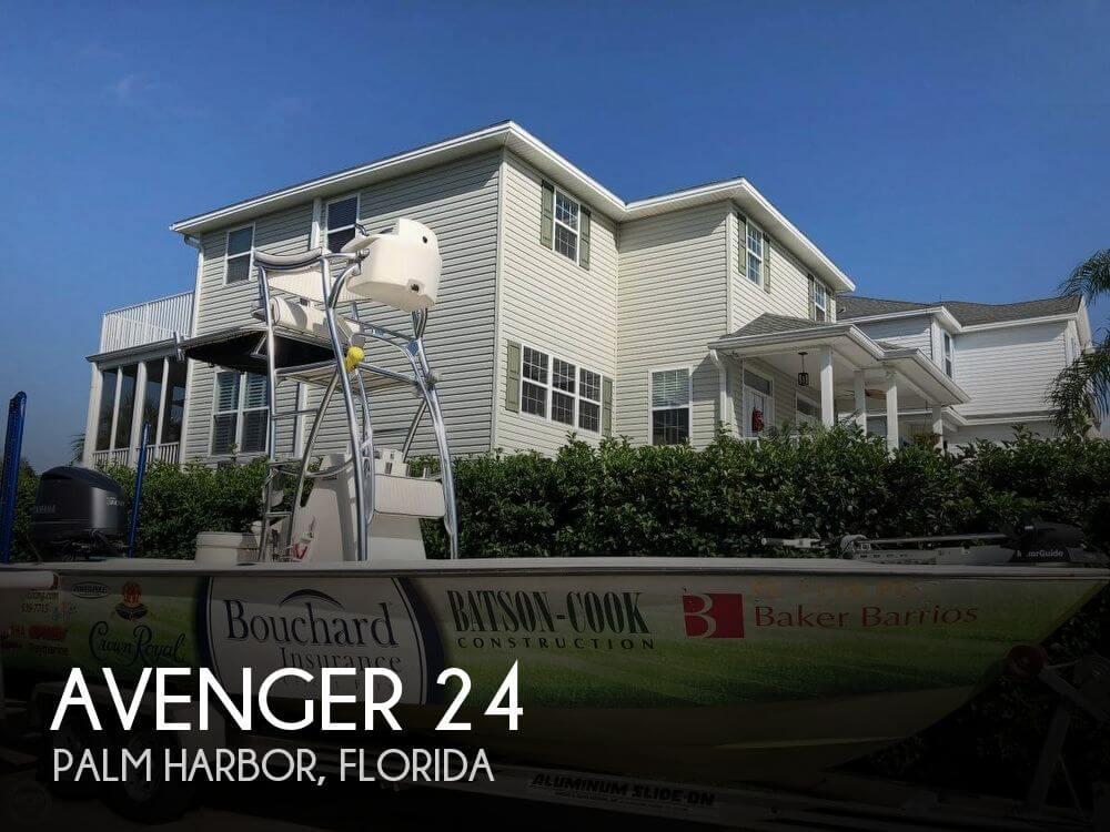 Used Avenger Boats For Sale by owner   2011 Avenger 24