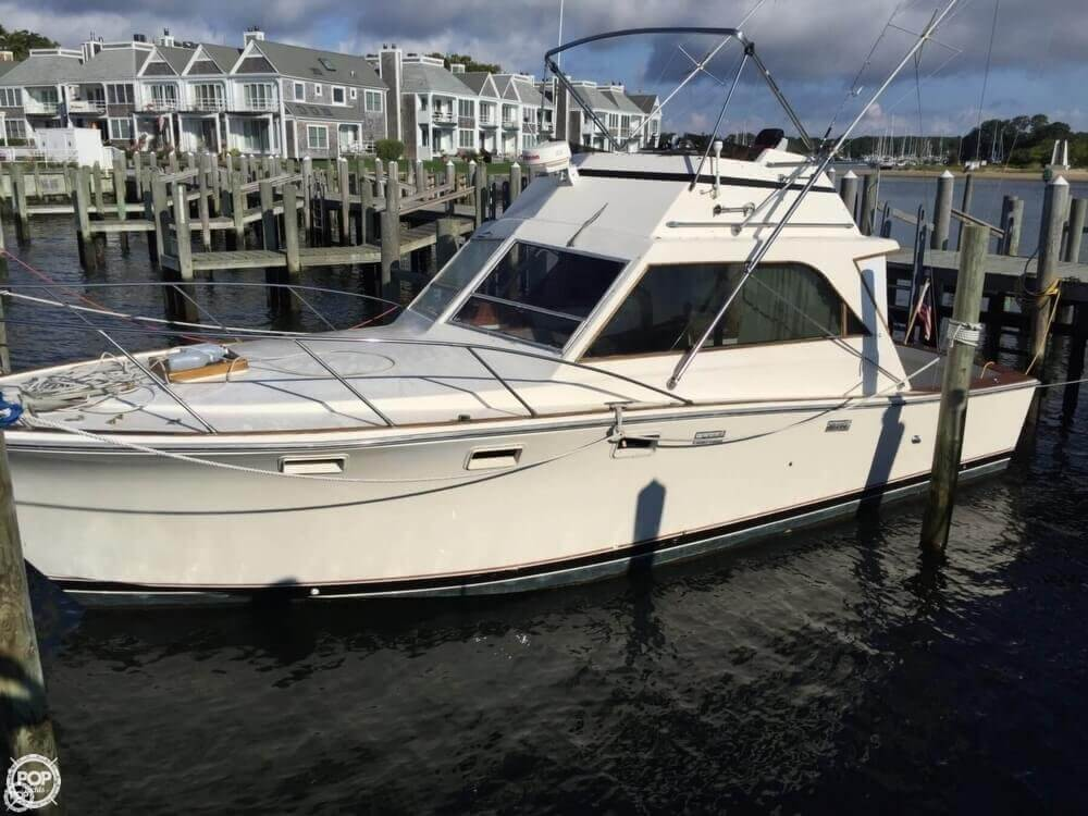 1973 Pacemaker boat for sale, model of the boat is 36 SF & Image # 3 of 40