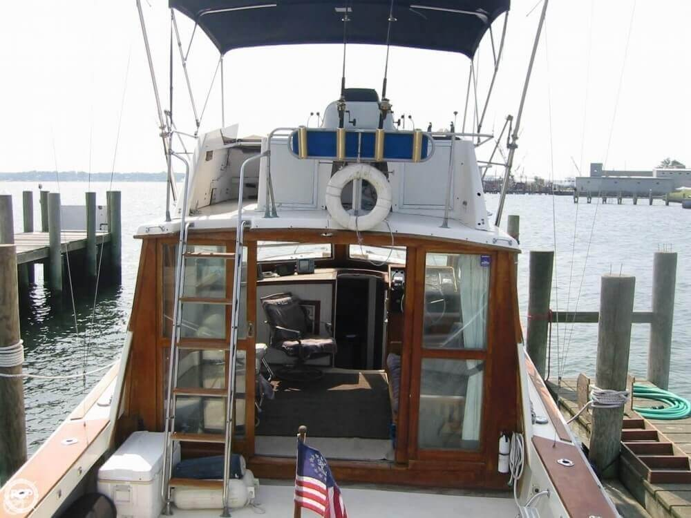 1973 Pacemaker boat for sale, model of the boat is 36 SF & Image # 14 of 40