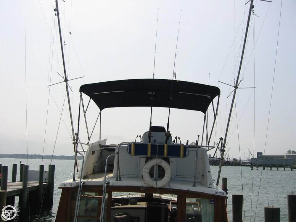 1973 Pacemaker boat for sale, model of the boat is 36 SF & Image # 15 of 40