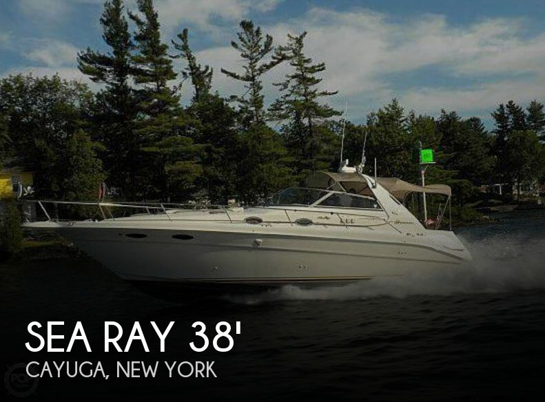 Used Boats For Sale in Rochester, New York by owner | 1998 Sea Ray 38