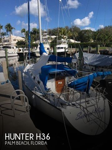 Used Hunter Sailboats For Sale in Florida by owner | 1985 Hunter 36