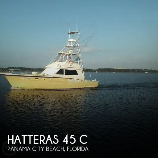 Used Fishing boats For Sale in Florida by owner | 1987 Hatteras 45