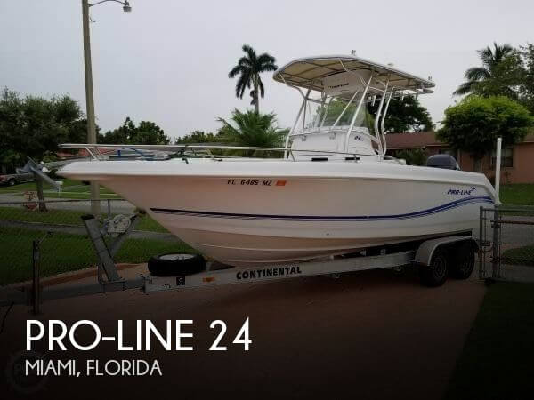 Used Pro-Line Boats For Sale in Florida by owner | 2005 Pro-Line 24