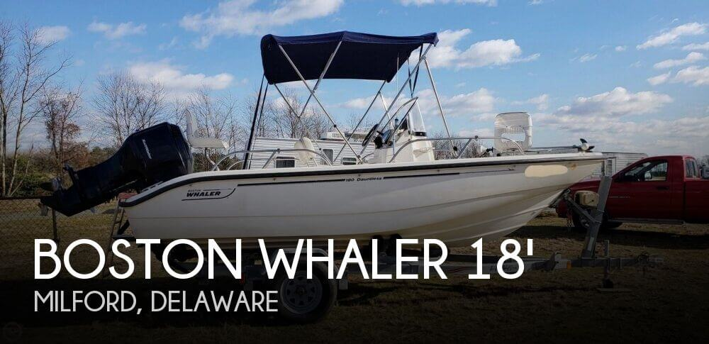 2005 Boston Whaler 180 Dauntless For Sale