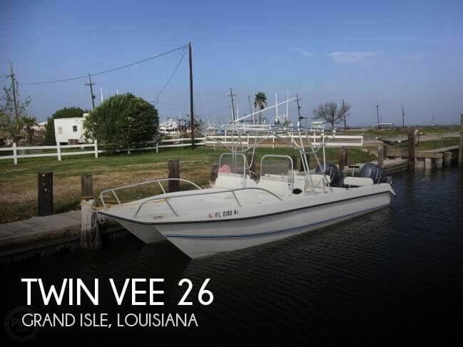 Used Twin Vee Boats For Sale by owner | 2007 Twin Vee 26