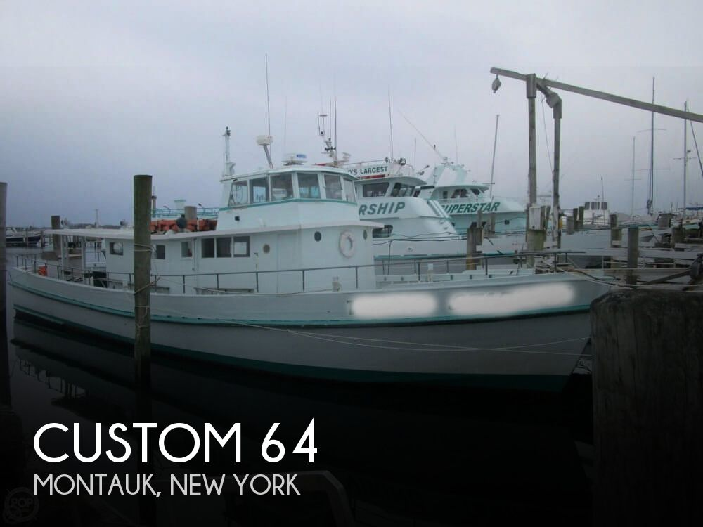1959 Custom boat for sale, model of the boat is 64 & Image # 1 of 40