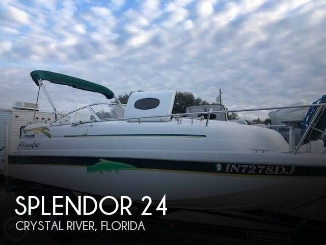 Used Splendor Boats For Sale by owner | 1997 Splendor 24