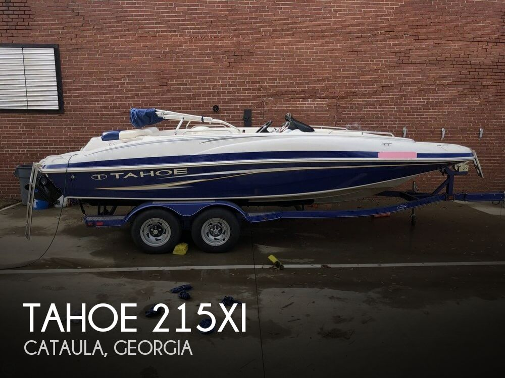 2011 Tahoe boat for sale, model of the boat is 215Xi & Image # 1 of 41