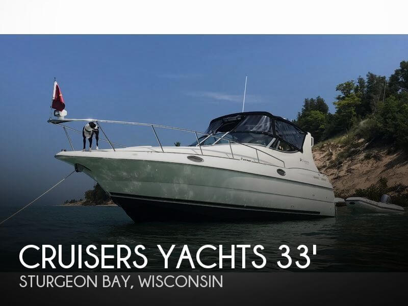 Used Boats For Sale in Green Bay, Wisconsin by owner | 1999 Cruisers Yachts 33