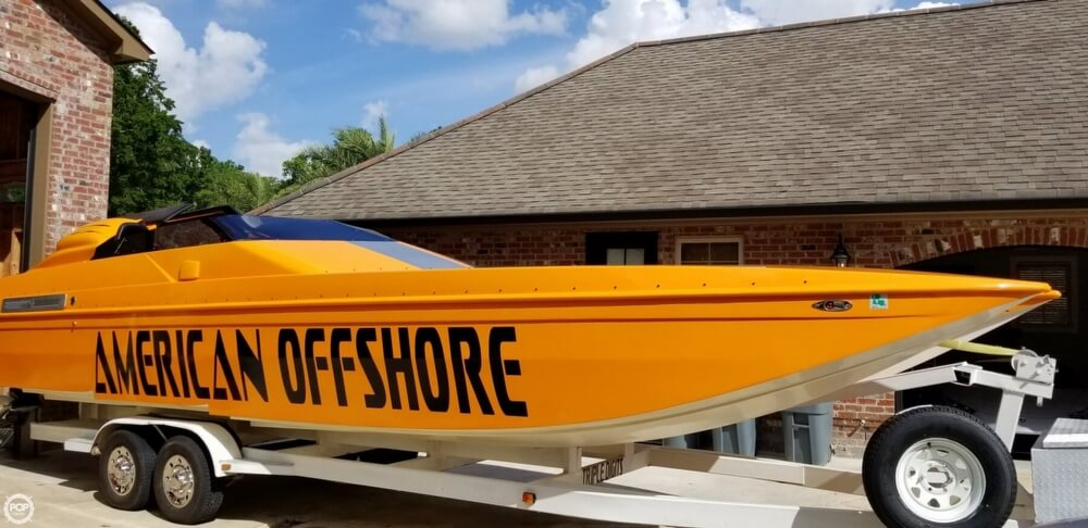 1994 American Offshore boat for sale, model of the boat is 3100 & Image # 25 of 40