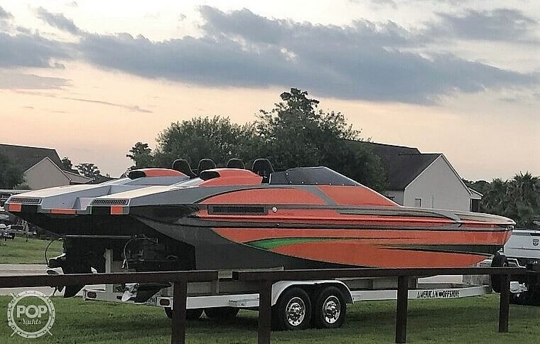 1994 American Offshore boat for sale, model of the boat is 3100 & Image # 13 of 40