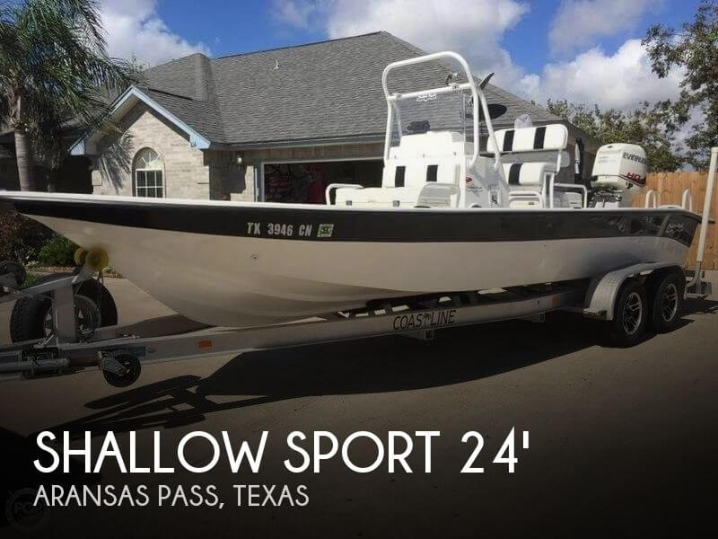 Used Boats For Sale in Corpus Christi, Texas by owner | 2015 Shallow Sport 24