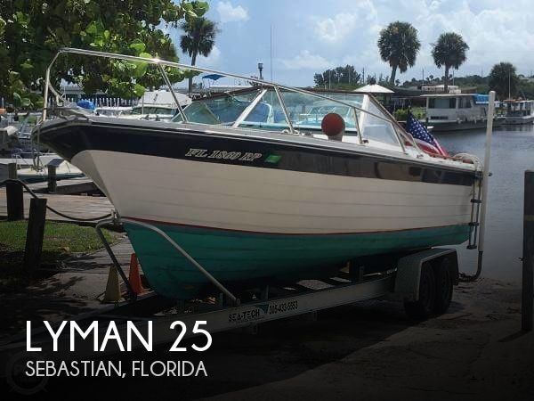 Used Lyman Boats For Sale by owner | 1975 Lyman 25