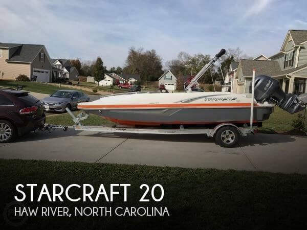 Used Deck Boats For Sale in North Carolina by owner | 2017 Starcraft 20