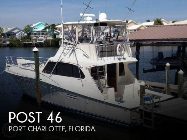 Used Post Boats For Sale by owner | 1988 Post 46