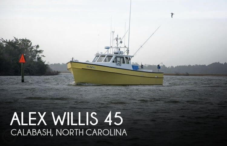 Used Boats For Sale in Myrtle Beach, South Carolina by owner | 2000 Alex Willis 45