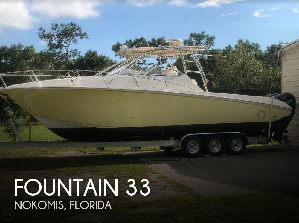 Used Fishing boats For Sale in Florida by owner | 2006 Fountain 33