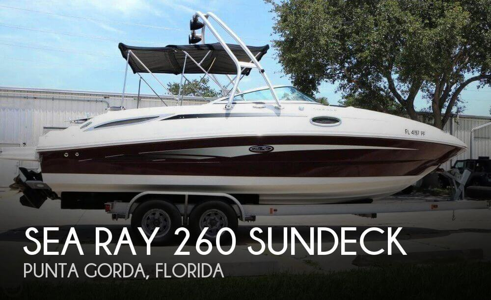 Used Sea Ray Deck Boats For Sale by owner | 2011 Sea Ray 26