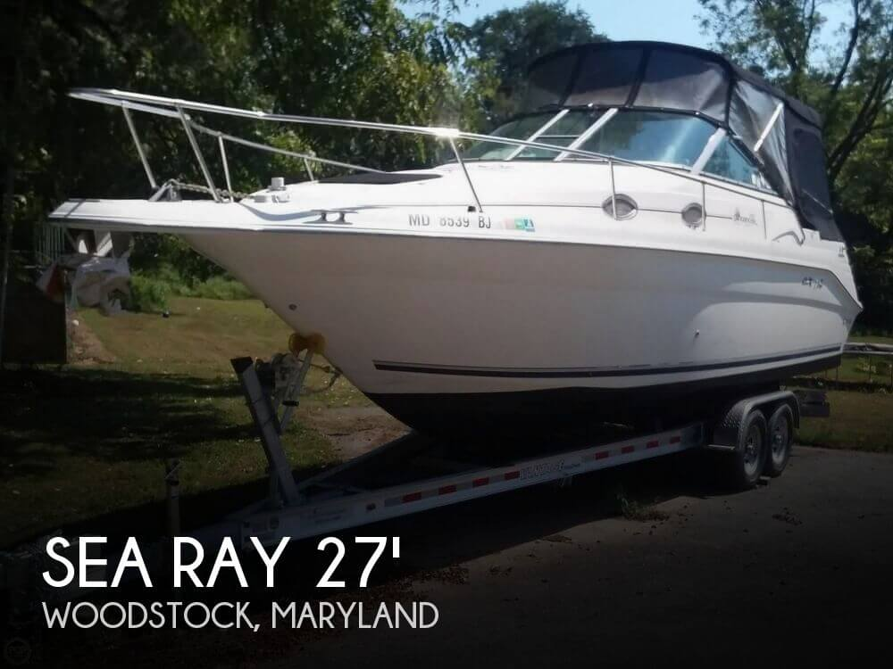 Used Sea Ray 270 sundancer Boats For Sale by owner | 1999 Sea Ray 270 Sundancer Special Edition