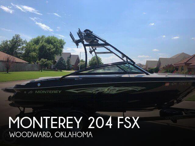 Used Monterey Boats For Sale in Oklahoma by owner | 2013 Monterey 204 FSX