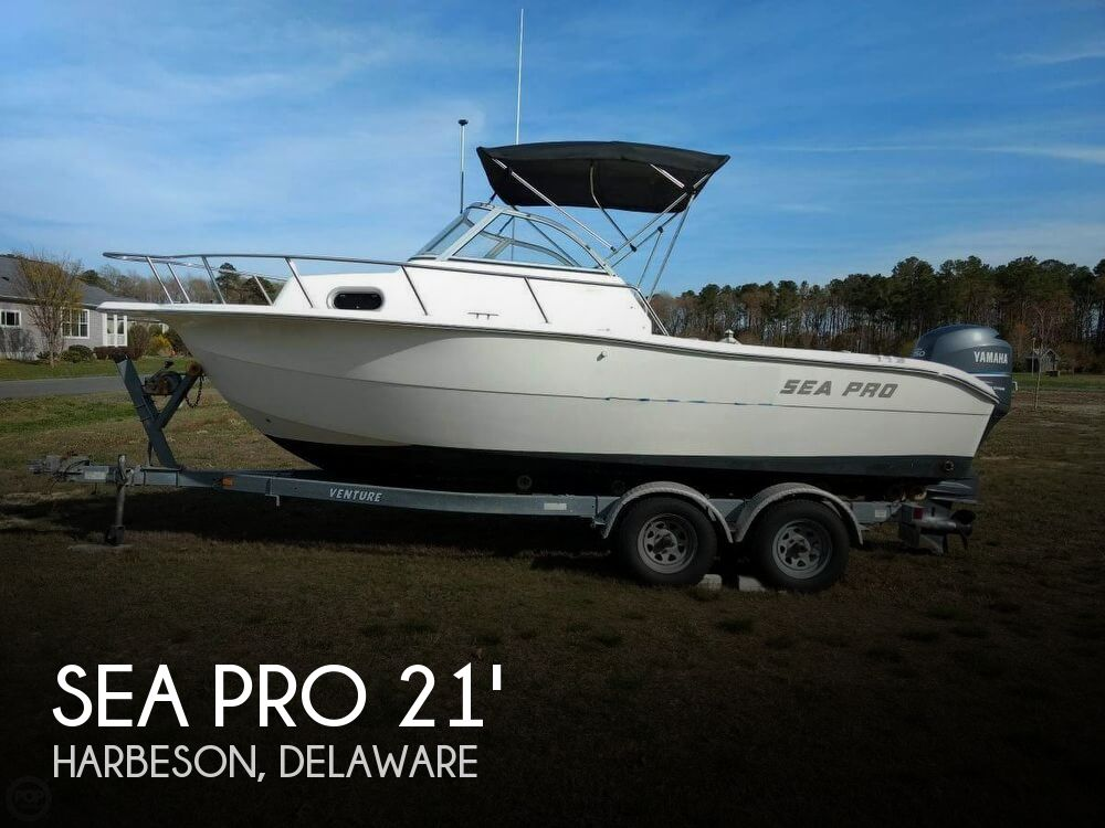 Used Sea Pro Boats For Sale by owner | 2004 Sea Pro 21