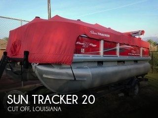 Used Sun Tracker Pontoon Boats For Sale by owner | 2017 Sun Tracker 20