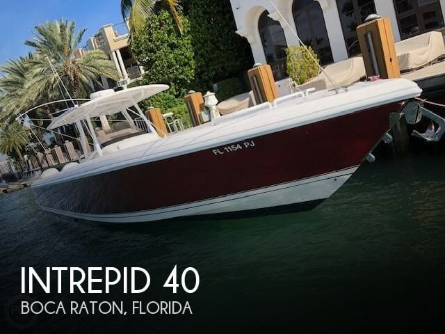 Used INTREPID Boats For Sale by owner | 2012 Intrepid 40