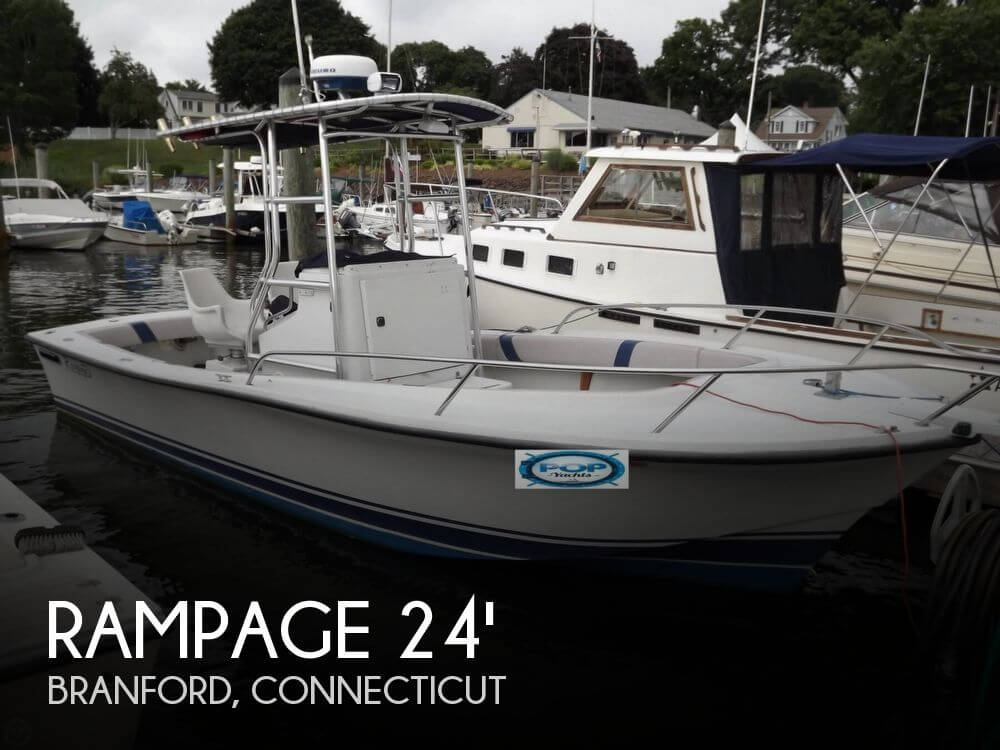 1988 RAMPAGE 24 CUSTOM TOURNAMENT for sale