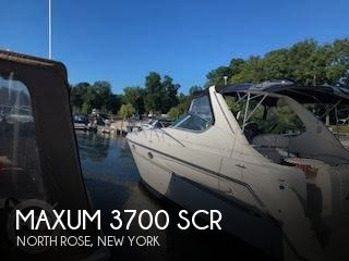 Used Boats For Sale in Rochester, New York by owner | 2000 Maxum 37