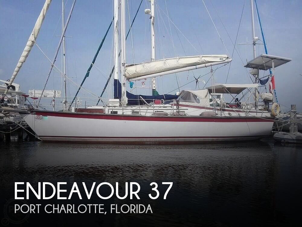 1981 Endeavour boat for sale, model of the boat is 37 & Image # 1 of 40