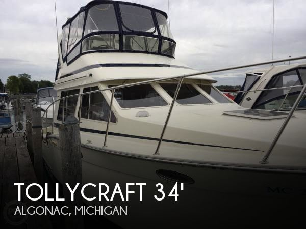 Used Motoryachts For Sale in Michigan by owner | 1988 Tollycraft 34