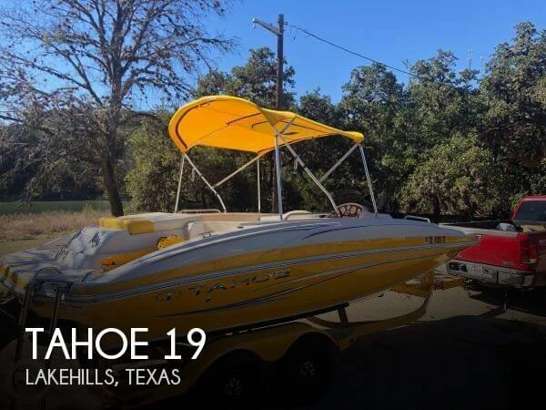 Used Tahoe Boats For Sale in Texas by owner | 2011 Tahoe 19