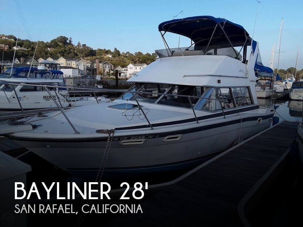 Used Bayliner Boats For Sale in Sacramento, California by owner | 1988 Bayliner 30