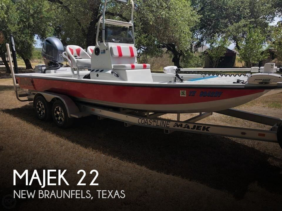 Used Boats For Sale in Austin, Texas by owner | 2016 Majek 22