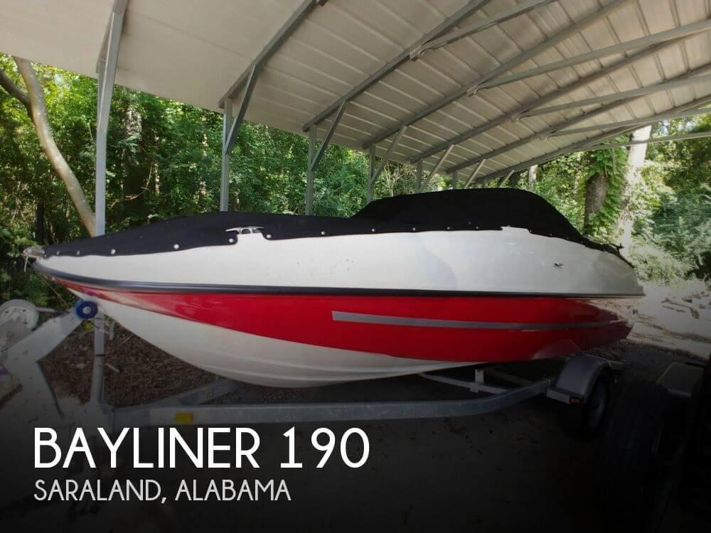 Used Bayliner Deck Boats For Sale by owner | 2016 Bayliner 190