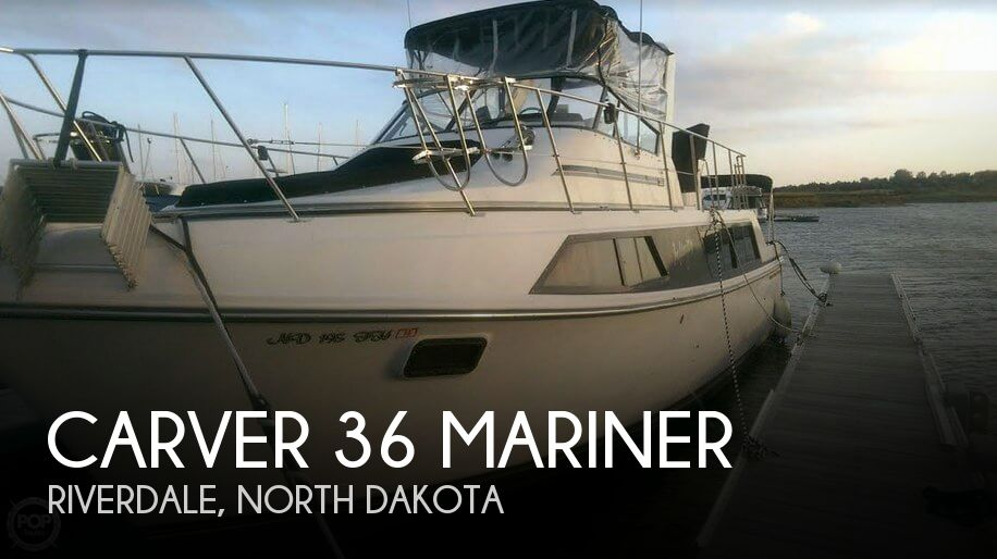 Used Carver 36 Boats For Sale by owner | 1988 Carver 36