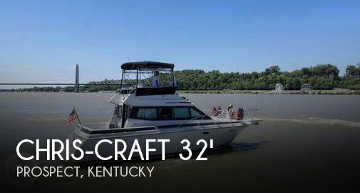 Used Motoryachts For Sale by owner | 1989 Chris-Craft 38
